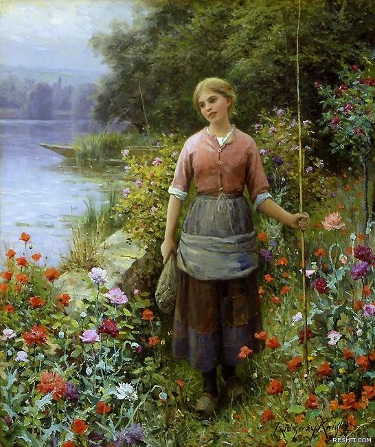 Daniel Ridgway Knight (1839 - 1924)