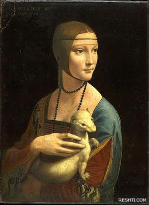 لوحة للفنان ليوناردو دا فينشي - ريشتي reshti.com1