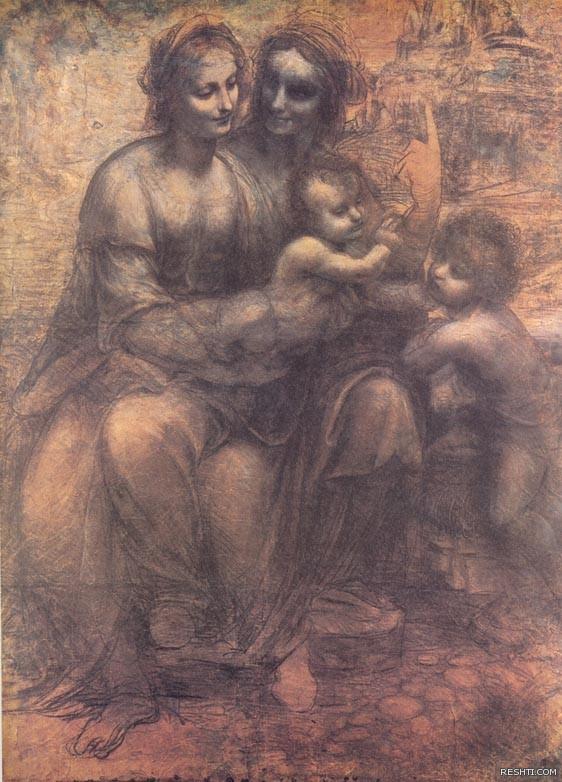 لوحة للفنان ليوناردو دا فينشي - ريشتي reshti.com3