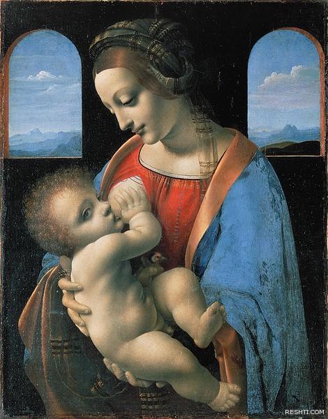 لوحة للفنان ليوناردو دا فينشي - ريشتي reshti.com5