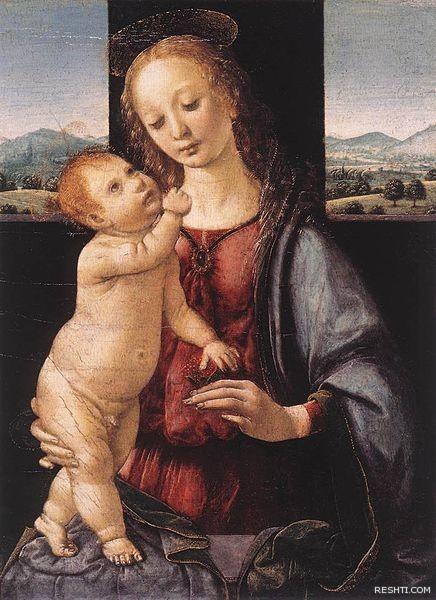 لوحة للفنان ليوناردو دا فينشي - ريشتي reshti.com6