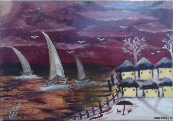 الفنان التشكيلي : إبراهيم عسكر الجابري