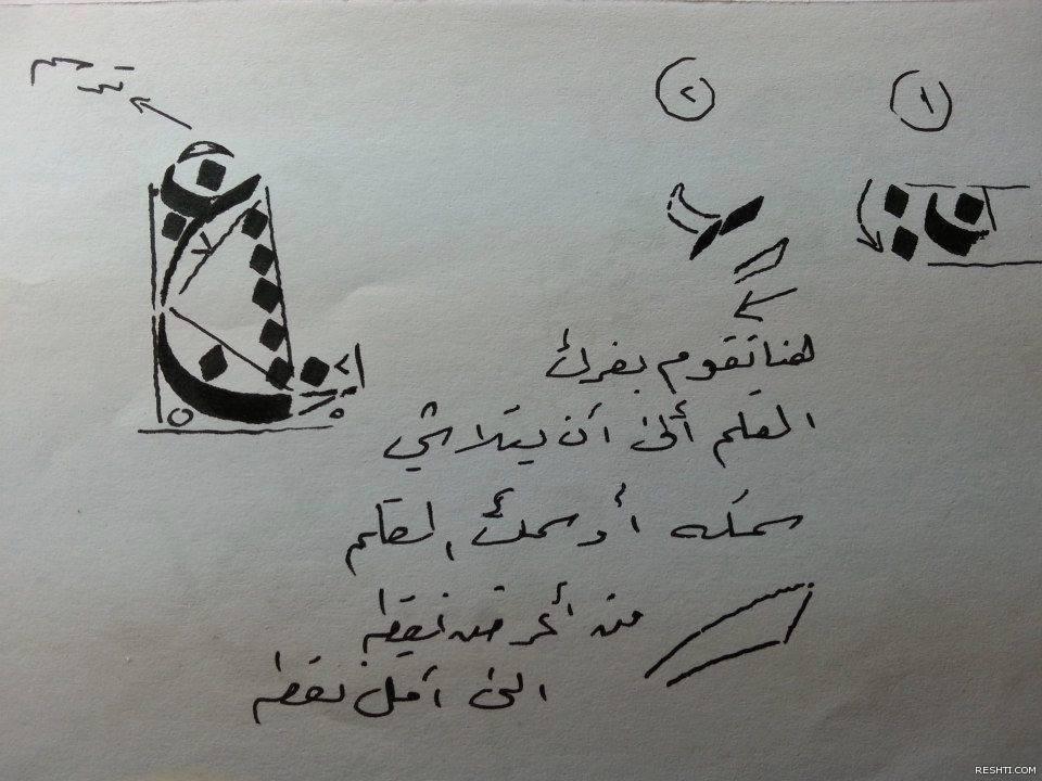 دورة خط النسخ - قاسم الخفاجي