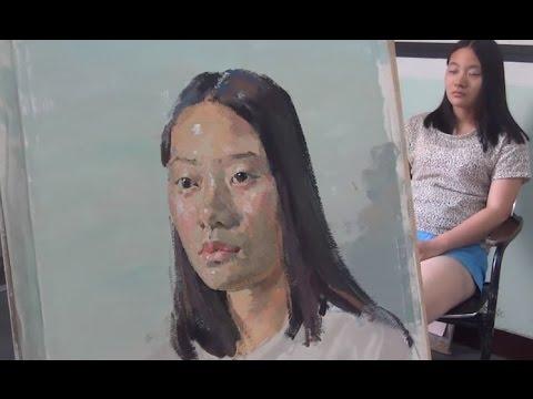 Gouache Portrait Painting Techniques
