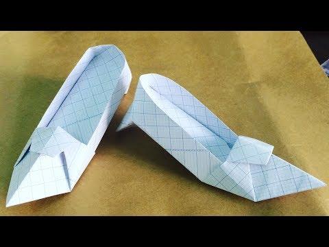 Hướng dẫn gấp giấy đôi giày cao gót sành điệu | RXTN DIY 26