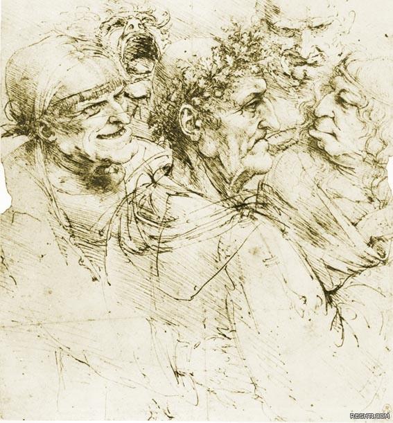 لوحة للفنان ليوناردو دا فينشي - ريشتي reshti.com2