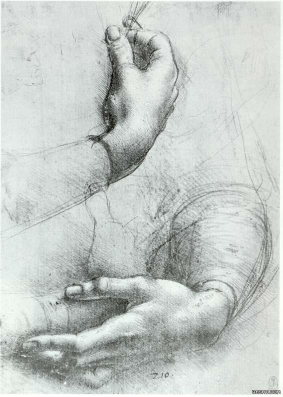 لوحة للفنان ليوناردو دا فينشي - ريشتي reshti.com7