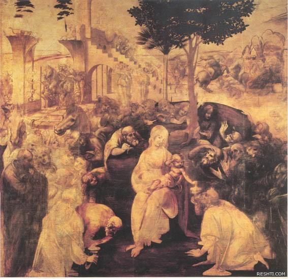 لوحة للفنان ليوناردو دا فينشي - ريشتي reshti.com9