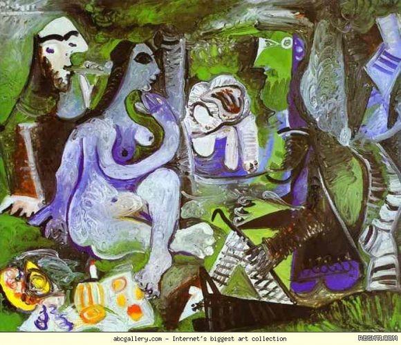 لوحة للفنان بابلو بيكاسو - ريشتي reshti.com3