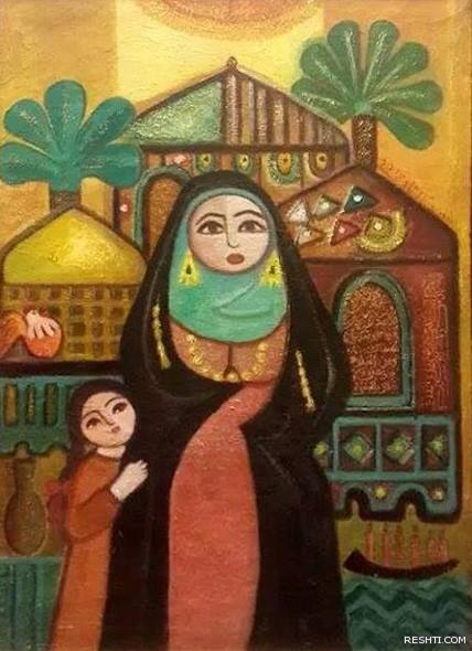 الفنانة التشكيلية العراقية / انسام سامي الربيعي
