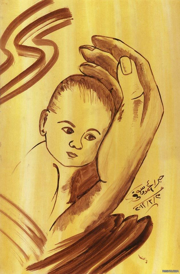 الخطاط  والفنان التشكيلي أحمد دسوقي 3