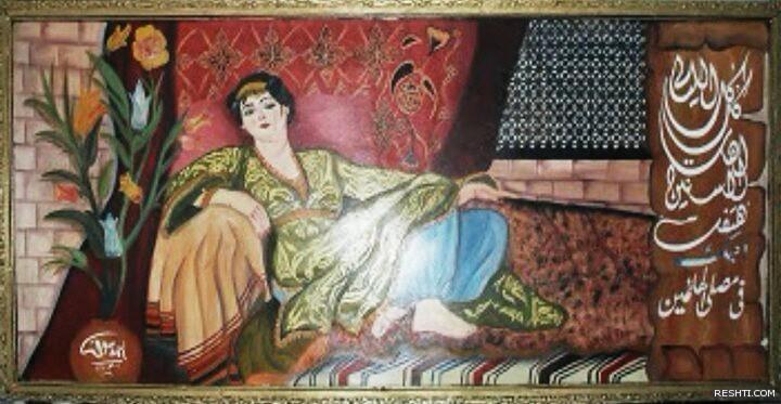 الخطاط  والفنان التشكيلي أحمد دسوقي 6