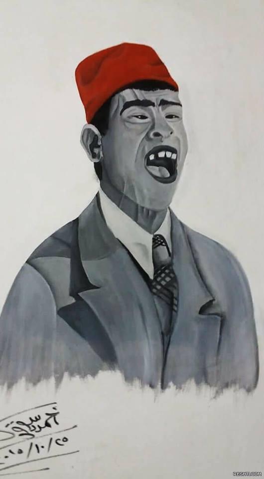 الخطاط  والفنان التشكيلي أحمد دسوقي 7