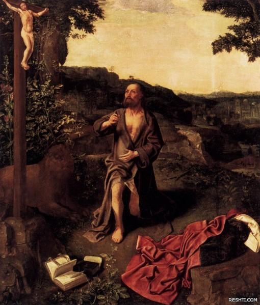 MASTER of Saint Gilles   St Jerome