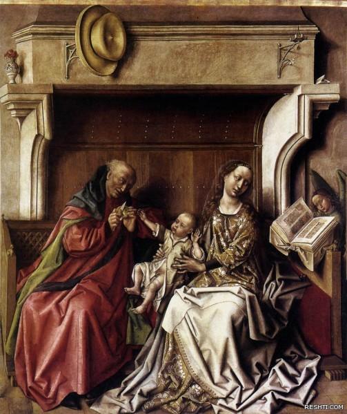 EYCK Barth lemy d   Holy Family