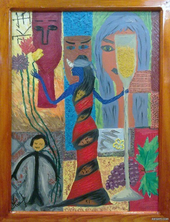 الفنانة التشكيلية : خلود هتان