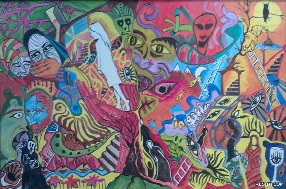 الفنان التشكيلي : خالد العباسي