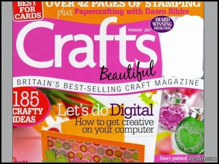 مجلة : Crafts Beautiful - February 2007 Vol.14 issue 6