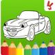 السيارات اللوحة لعبة للأطفال