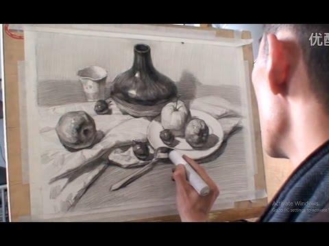 Still Life Drawing techinques