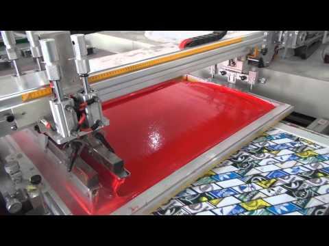 Oval Automatic Screen Printing Machine